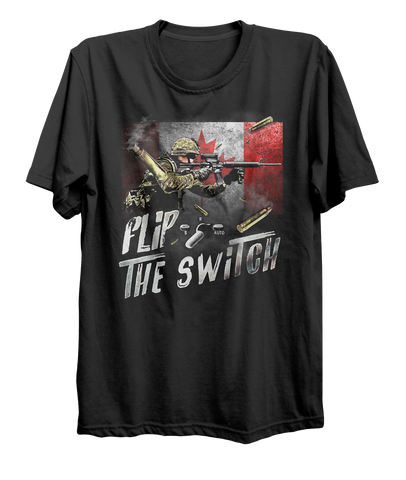 Flip The Switch Army T-Shirt