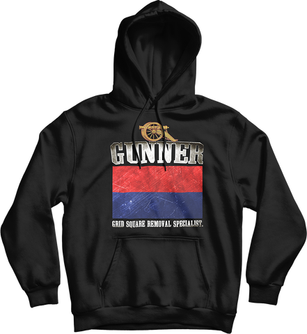 Gunner Grid Square Removal Specialist Hoodie