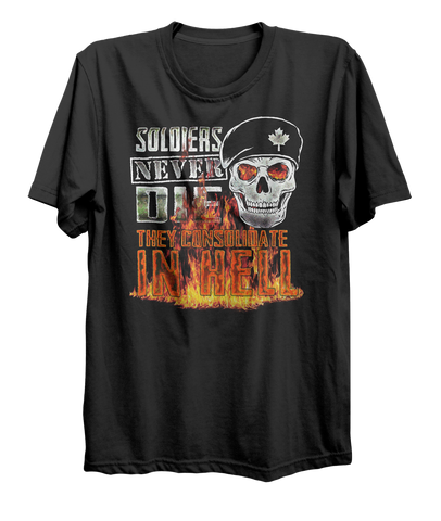 Soldiers Never Die T-Shirt