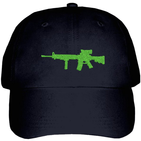Military Ballcap with C7 Rifle