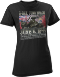 D-Day Juno Beach Memorial World War 2 Women's T-Shirt