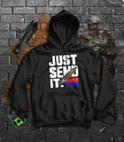Just Send it Artillery Hoodie
