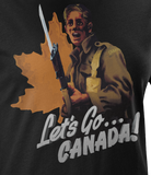 Let's Go Canada! World War 2 Women's T-Shirt