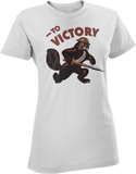 To Victory WW2 Women's T-Shirt