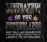 Historic Liberation of the Netherlands Memorial World War 2 T-Shirt