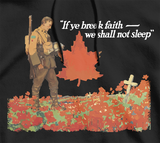 We Shall Not Sleep Military Remembrance Hoodie