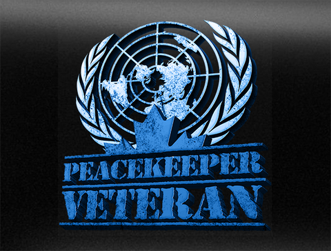 Canadian Peacekeeper Veteran Bumper Sticker