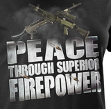 Peace Through Superior Firepower Mk. 2 Women's T-Shirt