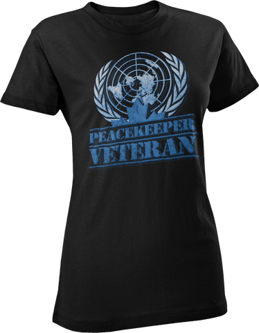 Peacekeeper - Veteran Women's T-Shirt