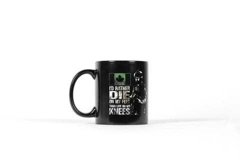 Die On My Feet Mug