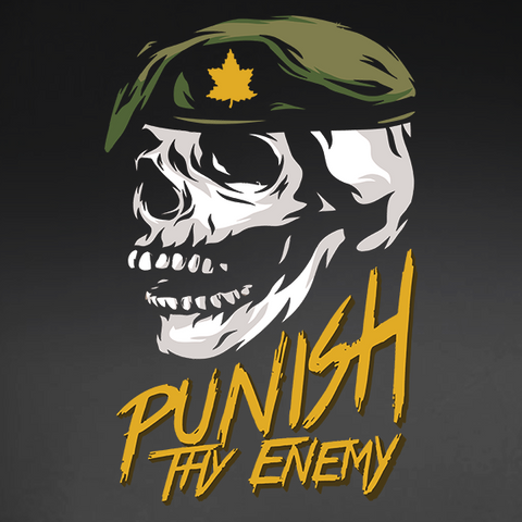 Punish Thy Enemy Decal