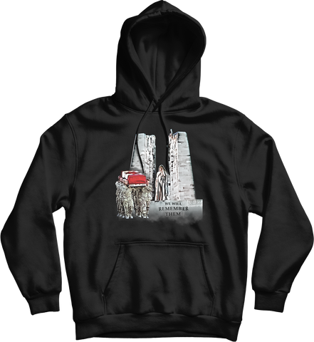 We Will Remember Them Memorial Hoodie