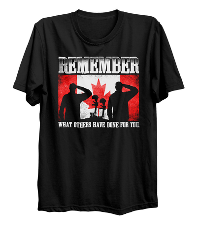 Military Remembrance T-Shirt