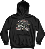 Red, White and Ready to Fight Hoodie