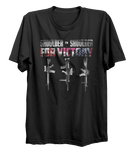 Shoulder To Shoulder Canada-UK-USA Military T-Shirt