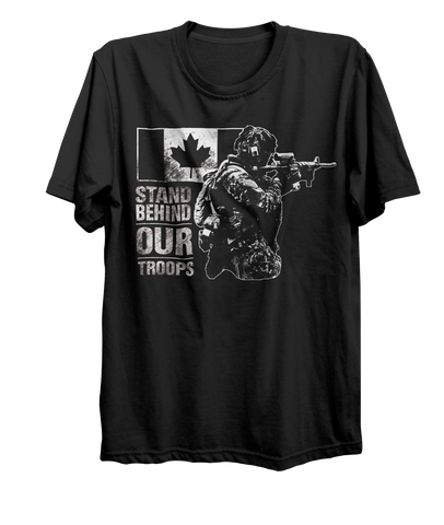 Stand Behind Our Troops Mk. 2 T-Shirt