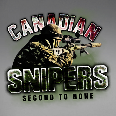 Canadian Snipers - Second To None T-Shirt