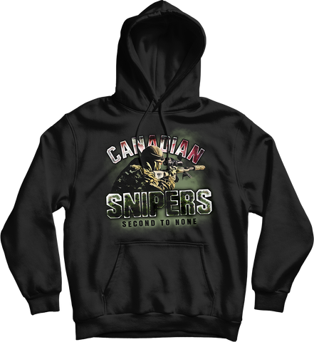 Canadian Snipers Second To None Hoodie