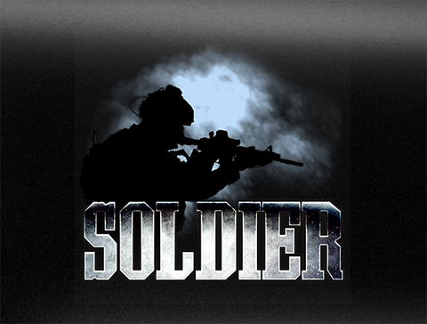 Canadian Soldier Vehicle Bumper Sticker