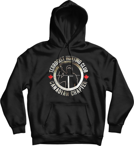 Terrorist Hunting Club Canadian Chapter Hoodie