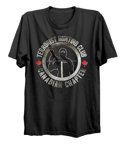 Terrorist Hunting Club Canadian Chapter T-Shirt