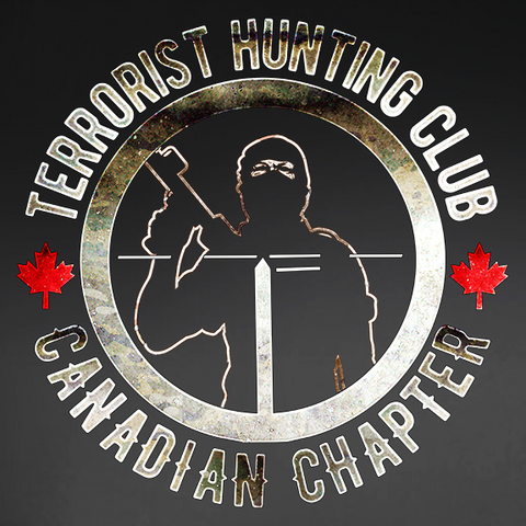 Terrorist Hunting Club Canadian Chapter Decal
