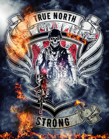 True North Strong Poster