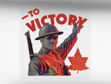 To Victory Mk. 3 World War 2 Vehicle Bumper Sticker