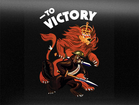 To Victory Mk. 2 World War 2 Vehicle Bumper Sticker
