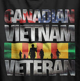 Canadian Vietnam War Veteran T-Shirt
