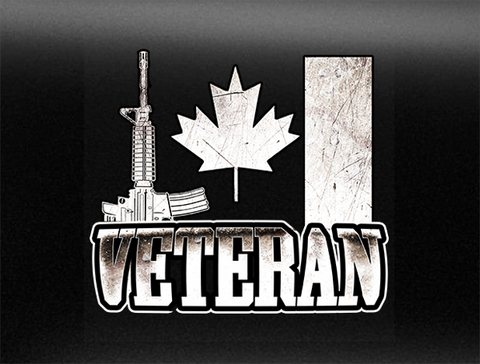 Veteran Vehicle Bumper Sticker