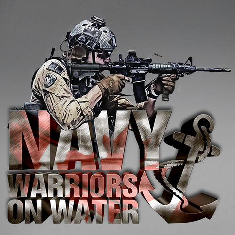 Warriors On Water Mk. 3 Navy Decal