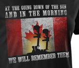 We Will Remember Them Memorial Women's T-Shirt