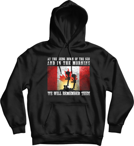 We Will Remember Them Hoodie
