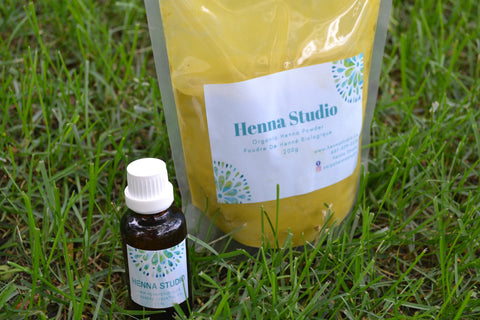 BAQ Henna powder with Lavender Essential Oil