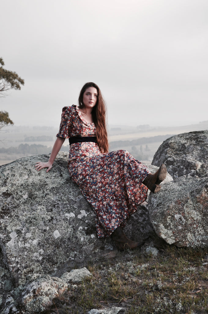 Misty Morning Prairie dress SOLD OUT