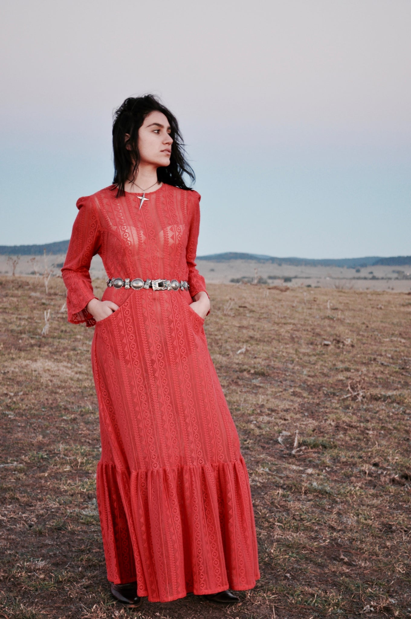 Fire Lace dress SOLD OUT