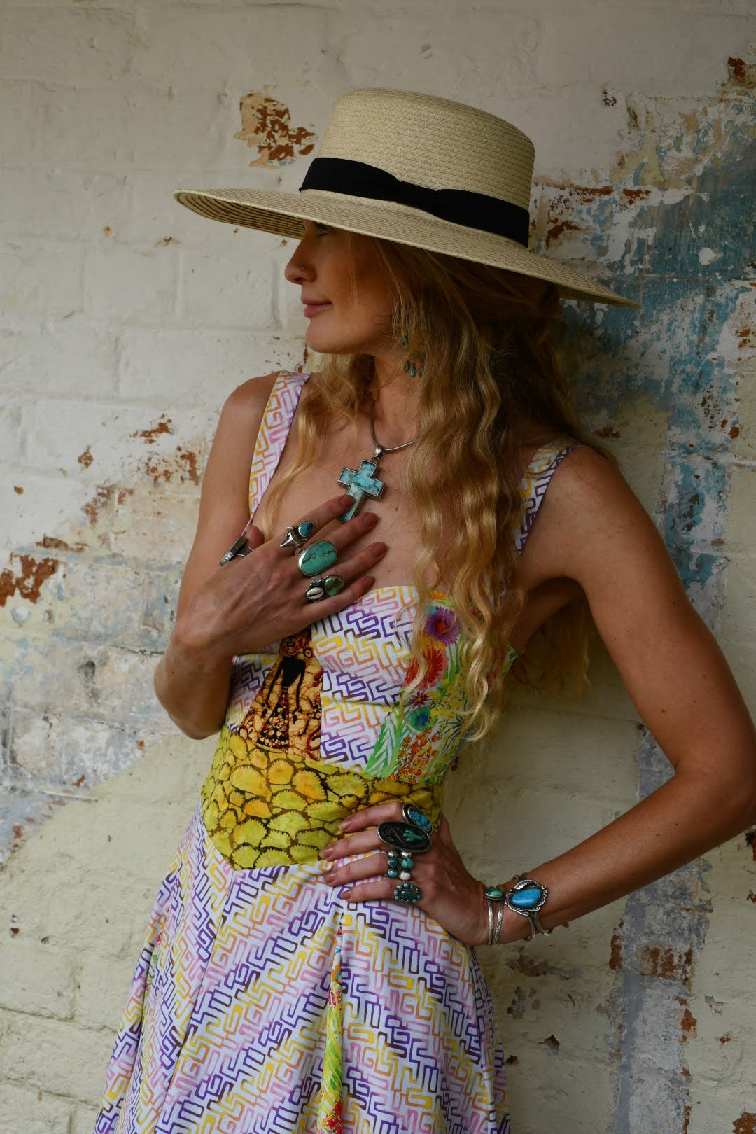 Festival dress size 8 one of a kind