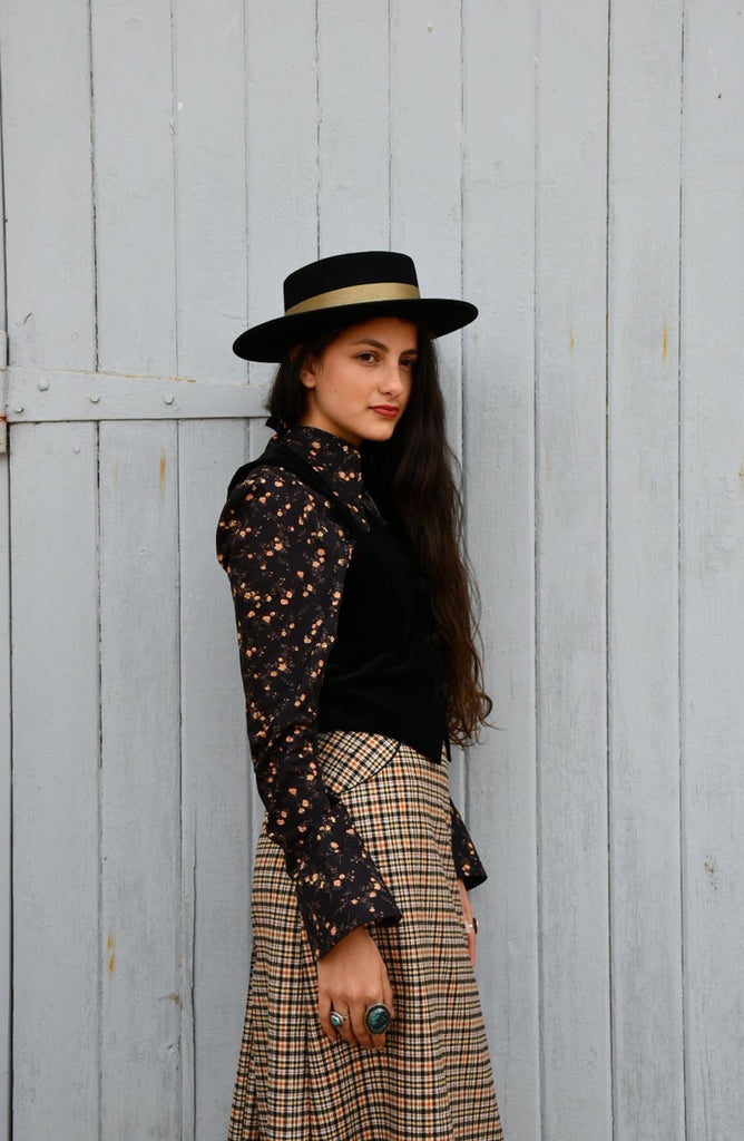 Hunting Mountain tweed skirt SOLD OUT