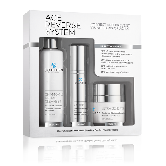 Age Reverse System - Soxxers Skin Science