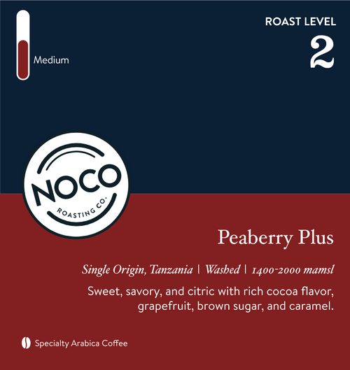 Peaberry Plus (12oz)