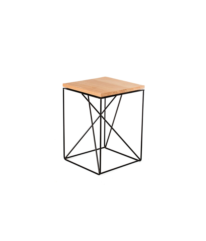 ALPHA LOW STOOL/SIDE TABLE - Redfox And Wilcox