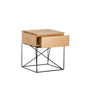 CRISS CROSS BEDSIDE TABLE - Redfox And Wilcox
