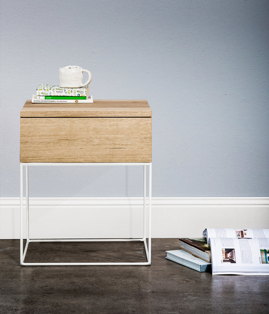 PLAIN JANE BEDSIDE TABLE - Redfox And Wilcox