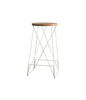 ROUND ALPHA BAR STOOL - Redfox And Wilcox