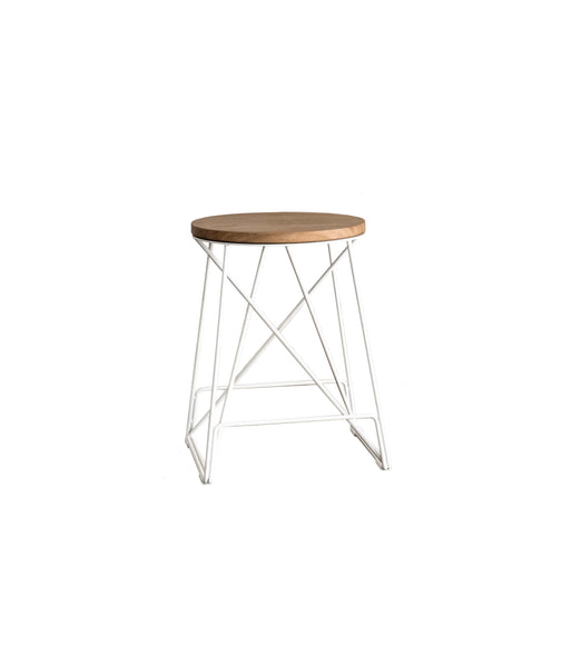 ROUND ALPHA LOW STOOL - Redfox And Wilcox