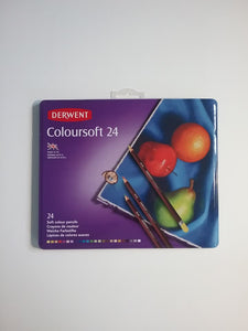 Derwent Coloursoft 24