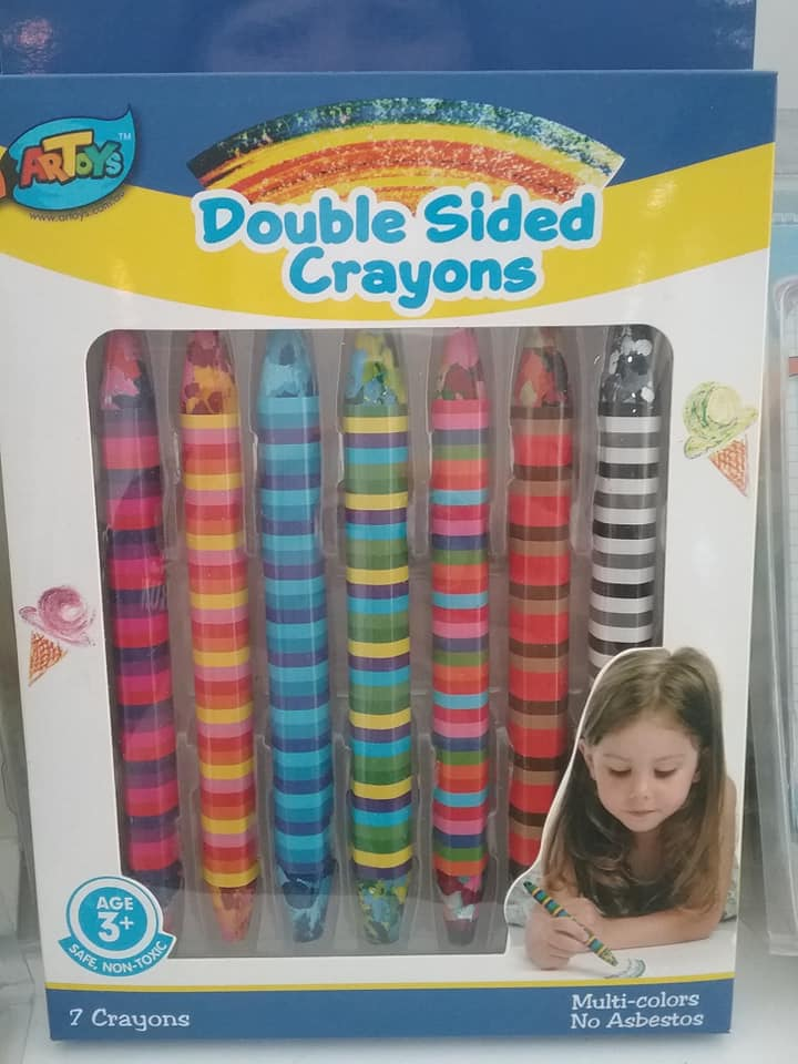 Double Sided Crayons
