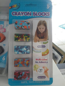 Small Crayon Blocks
