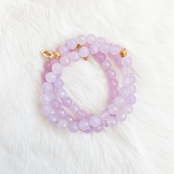 Light Purple Jade Bracelet